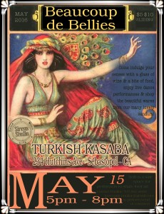Turkish belly dance classes